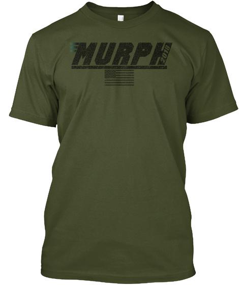 Murph Military Green T-Shirt Front
