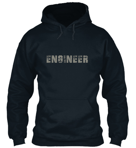 Engineer French Navy Sweatshirt Front