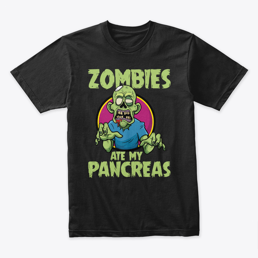 Zombies Ate My Pancreas Unisex Tshirt