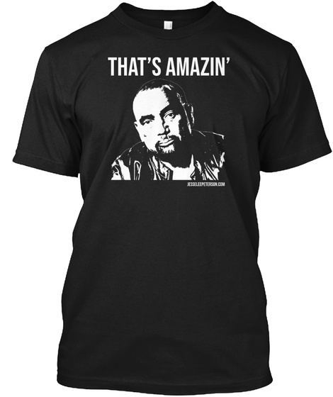 That's Amazin' Black T-Shirt Front
