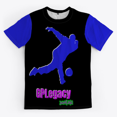 Gp Legacy   Purple Series Roll Black T-Shirt Front