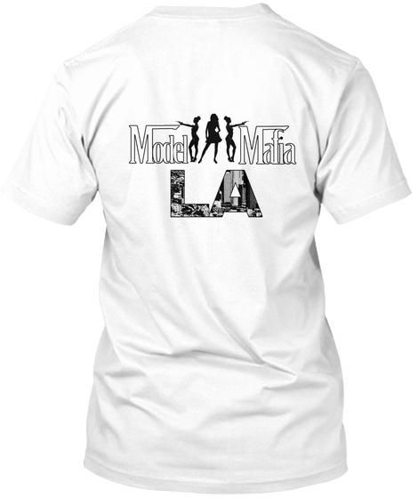 2nd Annual Model Mafia Fashion Festiv... White T-Shirt Back