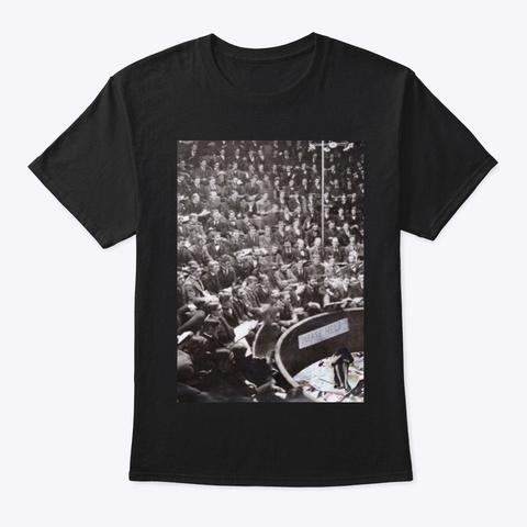 Depression Black T-Shirt Front