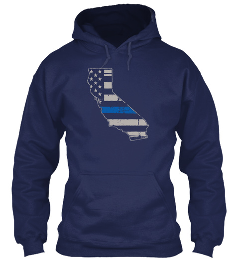 (Ts) Limited Edition   Police (Cal)  Navy T-Shirt Front