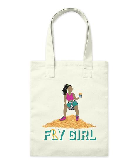 Fry Girl Tote Natural T-Shirt Front