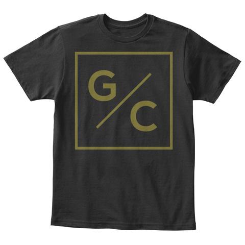 G/C Black T-Shirt Front