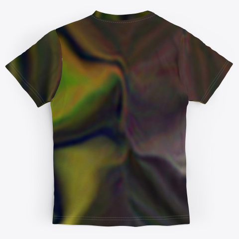 Beam With Subtleties Of Fine Art Standard T-Shirt Back