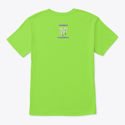 Scribbler   Made In The 80s Lime T-Shirt Back