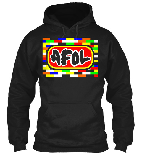 Afol Black Sweatshirt Front