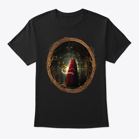 The Young Wizard Black T-Shirt Front