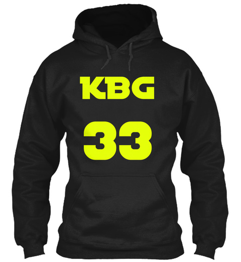 Kbg 33 Black T-Shirt Front