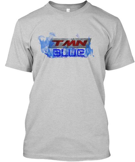 Tmn Blue Light Steel T-Shirt Front