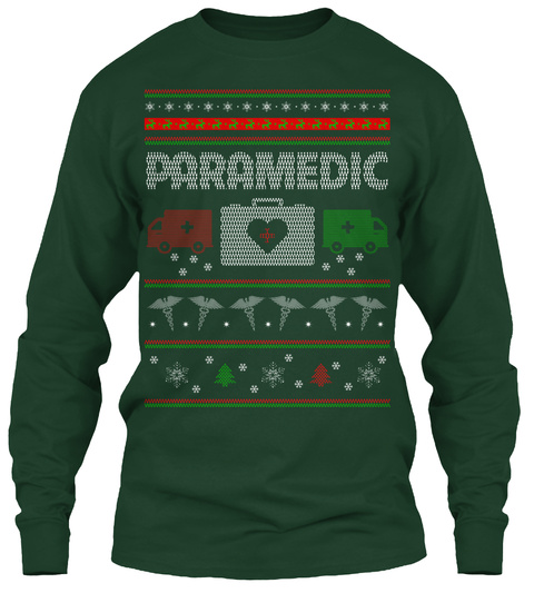 Paramedic Forest Green T-Shirt Front