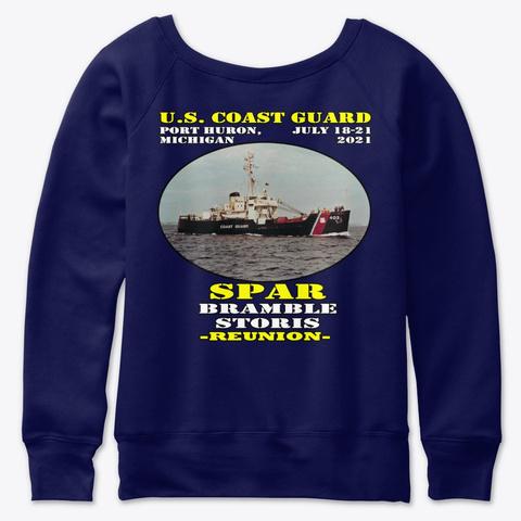 Spar (Wlb 403) T Shirt Navy  T-Shirt Back