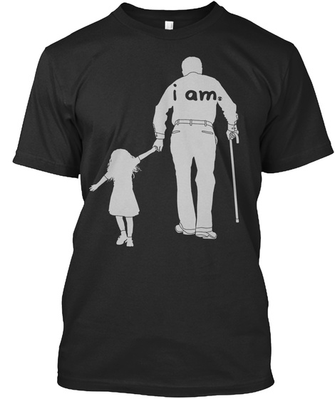 I Am Black T-Shirt Front