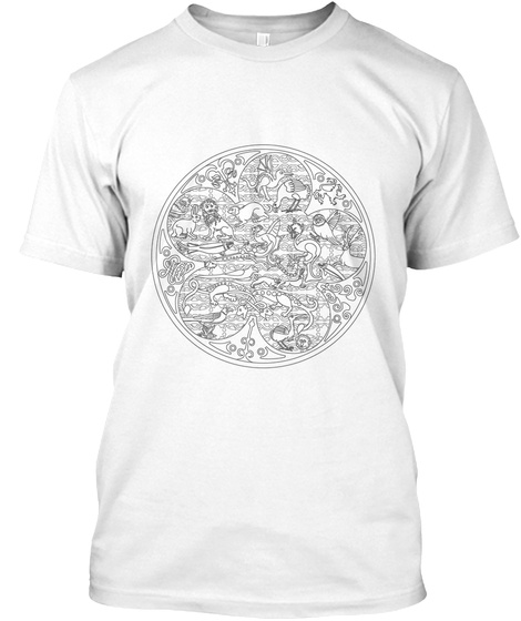 Murthly Hours Uk White T-Shirt Front