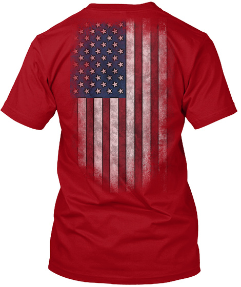 Red Friday: Remember Logo Deep Red T-Shirt Back