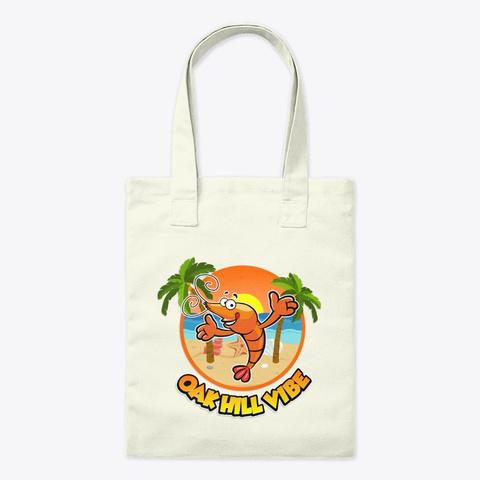 Oak Hill Vibe Beach Natural T-Shirt Front
