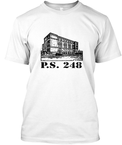 P.S.  248 White T-Shirt Front