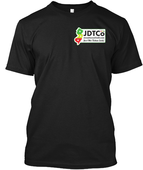 Jdt Co Black T-Shirt Front