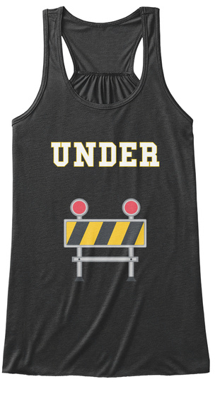 Under Dark Grey Heather Women's Tank Top Front