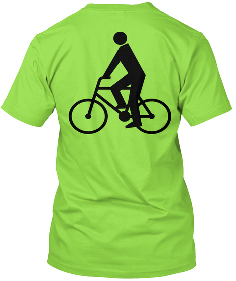 Know Your Roll! Lime T-Shirt Back