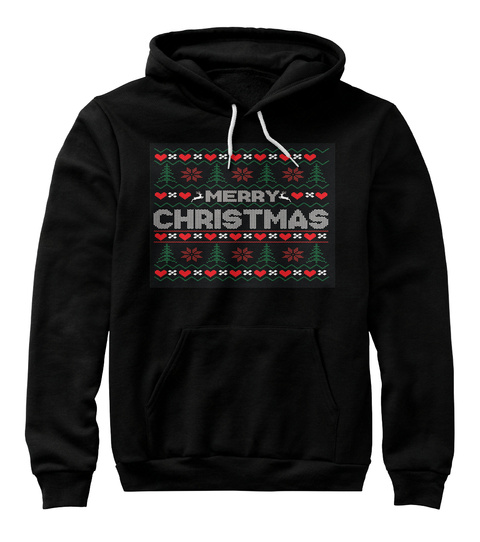 Christmas Special Black T-Shirt Front