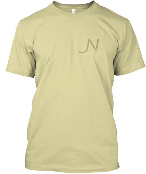 Jn Vanilla Tee Sand T-Shirt Front