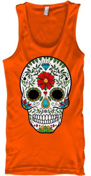 Na Orange T-Shirt Front