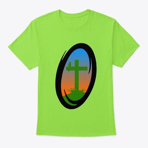 The Portalers   Jeremiah's Collection Lime T-Shirt Front