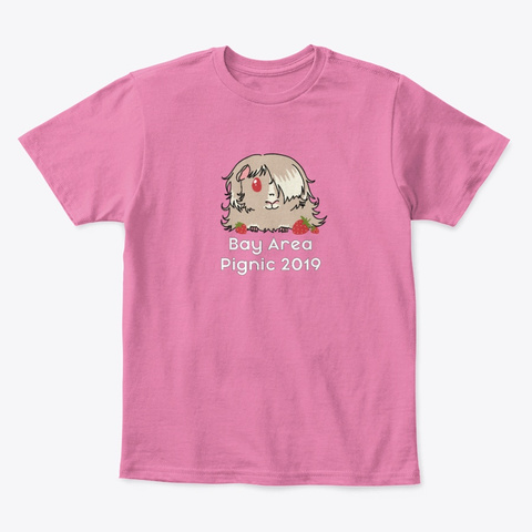 Bay Area Pignic 2019 True Pink  T-Shirt Front