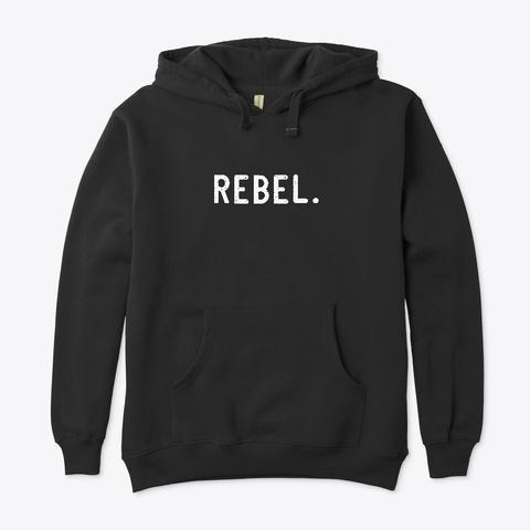 Rebel.Toys Hoodie Black T-Shirt Front