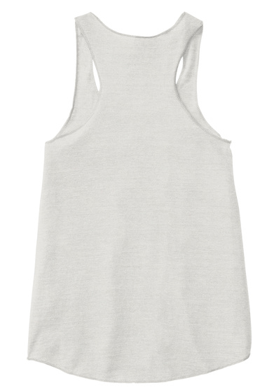 Casefile Female Dark (Racerback Tank) Eco Ivory  Women's Tank Top Back