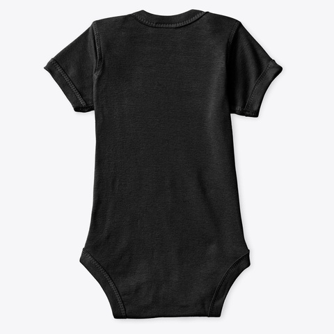 Keto Baby Black T-Shirt Back