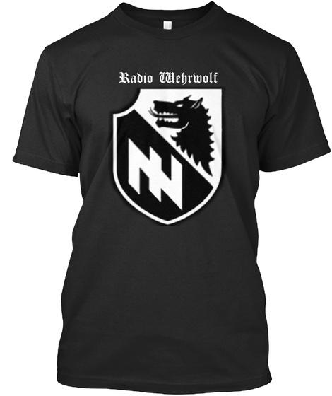 Radio Wehrwolf Black T-Shirt Front