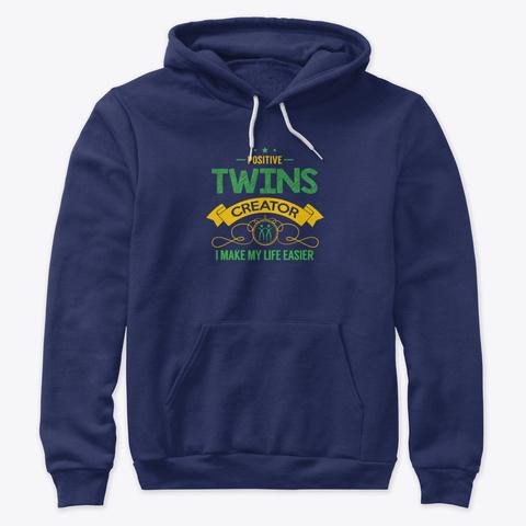 Positive Twins Creator Vol 1 Navy T-Shirt Front