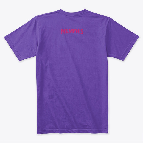 Toonkified #Bring Your Soul Purple Rush T-Shirt Back