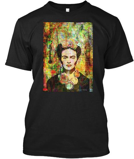 Art For Alzheimers Black T-Shirt Front