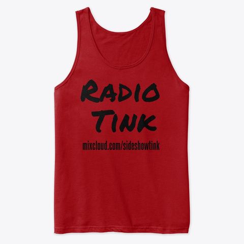Radio Tink Tank Red T-Shirt Front