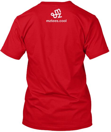 Hotdog Guys Red T-Shirt Back