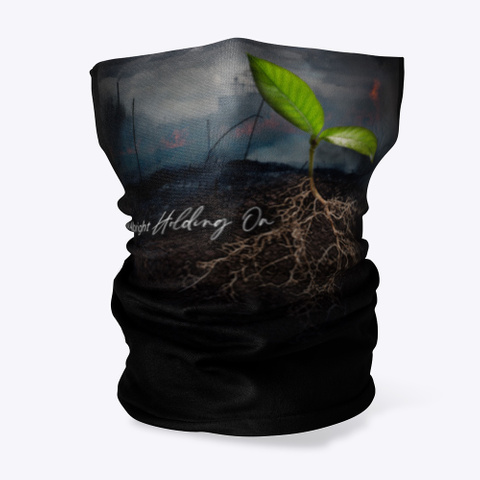 """Selina Albright """"Holding On"""" Collection Black T-Shirt Front"""