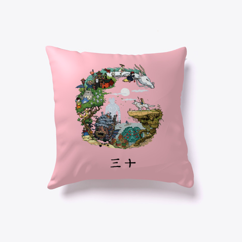 Pillow Pink T-Shirt Front