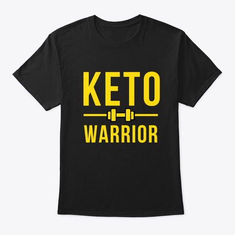 Keto Warrior Black T-Shirt Front