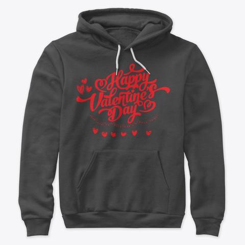 Valentine's Day Gifts 4 Friends + Family Dark Grey Heather T-Shirt Front