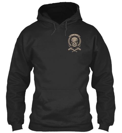 S'ils Se Tiennent Derrière Toi ! Jet Black T-Shirt Front