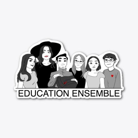 2020 Ensemble Sticker Standard T-Shirt Front