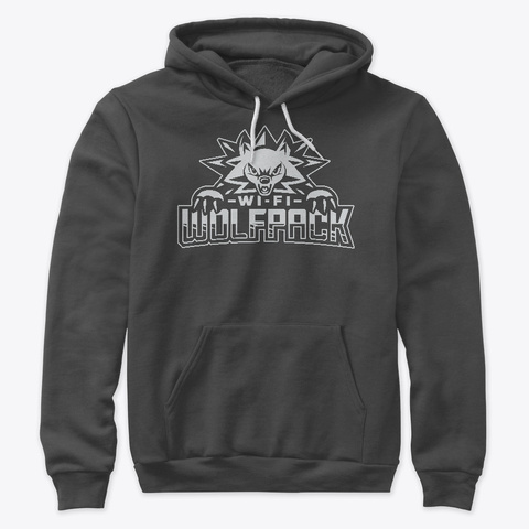Splxi Wolfpack Dark Grey Heather T-Shirt Front