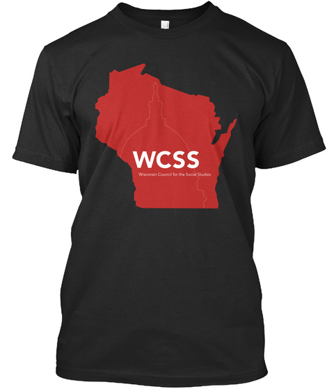 Wcss Annual Conference 2017 Black T-Shirt Front