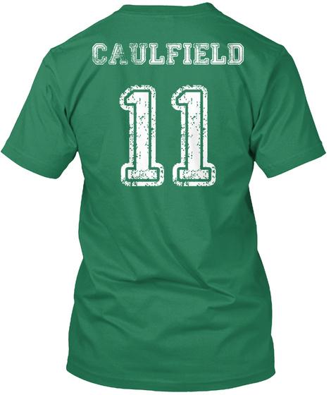 Caulfield 11 Kelly T-Shirt Back