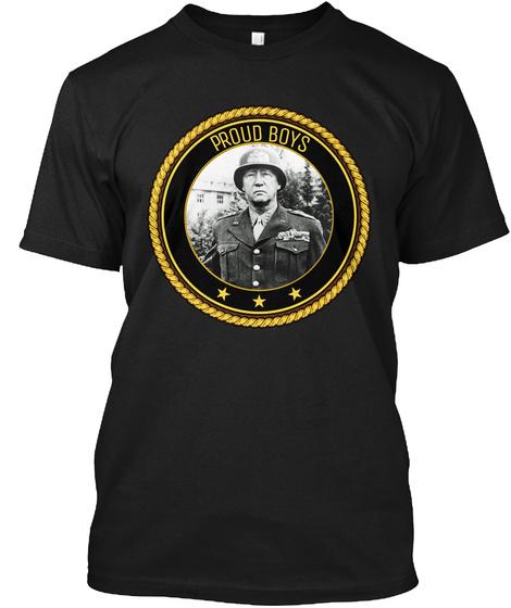 Proud Boys Black T-Shirt Front